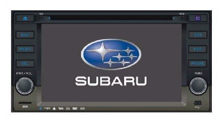 Subaru Custom Car DVD Player and GPS navigation for Subaru Impreza/Forester 09+bluetooth function+ 6.2'' HD LCD+2GB SD Card