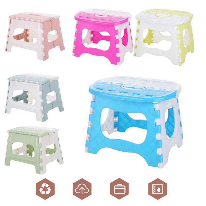 Portable Folding Chairs Outdoor Mini Seat Multifunction Camping Fishing Picnic Beach BBQ Children Stool