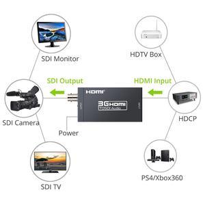 Image 2 - Proster sdi コンバータ + sdi hdmi アダプタ hdtv オーディオコンバータ HD SDI/3G SDI アダプタ 1080 1080p dac コンバータ