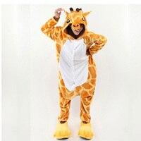 Japan Anime Kigurumi Giraffe Pajamas Cosplay Pyjamas Animal Party Costume Sleepwear