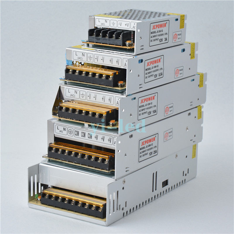 Mokungit AC110/220V To <font><b>DC</b></font> 12V 1A 2A 3A 5A 6A 10A 15A 20A 25A 30A <font><b>40A</b></font> 50A 60A Switch Power Supply Adapter 12V <font><b>DC</b></font> Transformer image