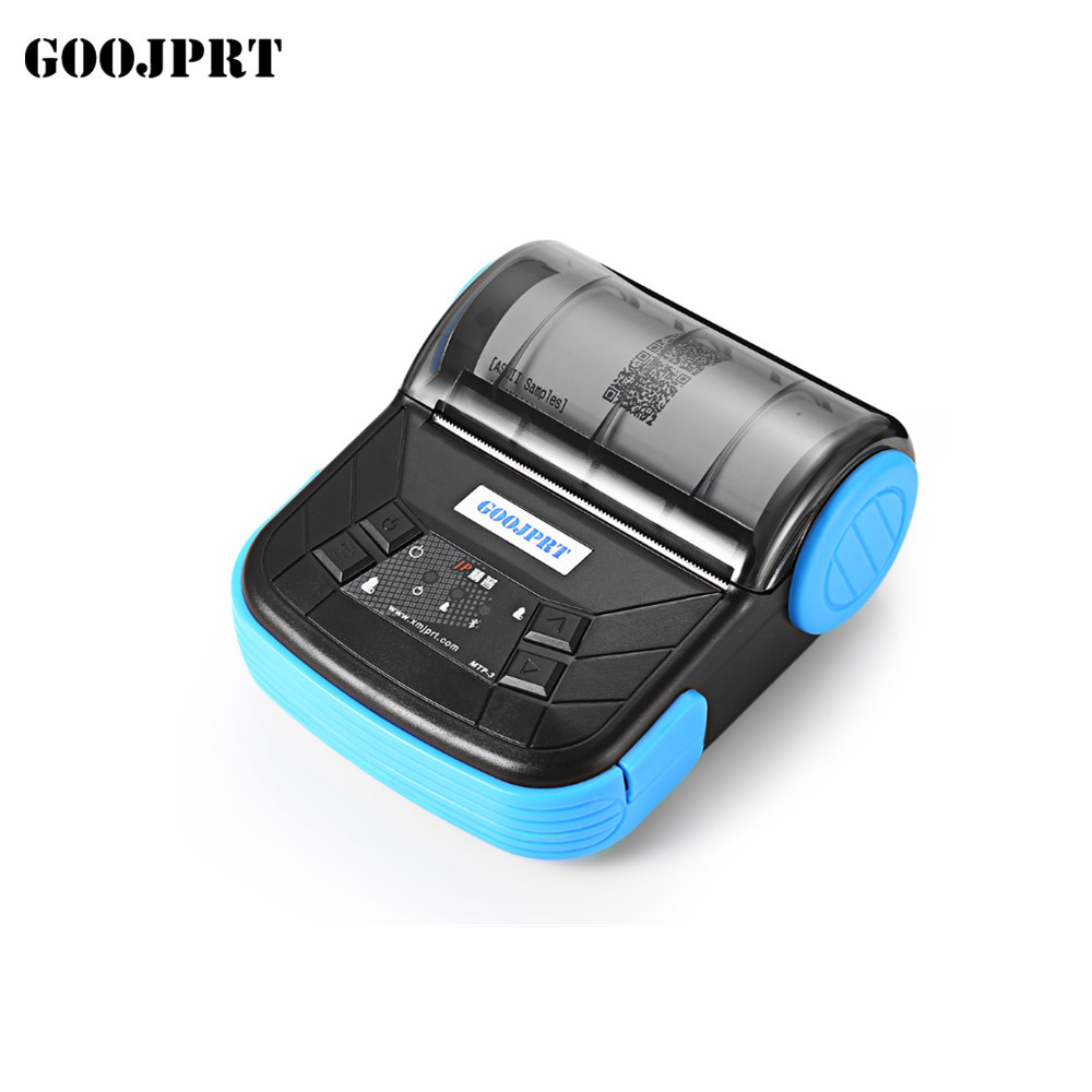 80mm Bluetooth Printer Thermal Printer Thermal Receipt Printer Bluetooth Android Mini 80mm Thermal Bluetooth Printer  Mtp3