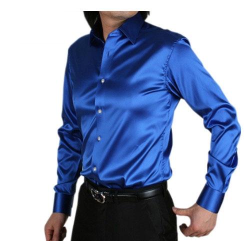 Buy new fashion men slim fit high quality for Best slim fit tuxedo shirt