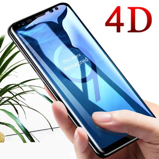 HSTRADE 4D Curved Full Cover Tempered Glass For Samsung Galaxy S8 S9...