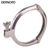 Dernord 6 Inch Three Segment Sanitary Clamp Stainless Steel 304 Tri Clamp Clover