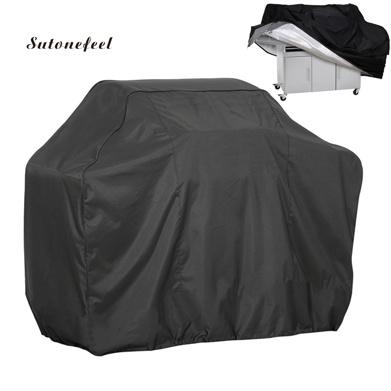 Oxford Covers For BBQ Grill Dust Rain Covers To Protect Gas Charcoal Electric Waterproof Barbecue Cover Case BBQ Accessories