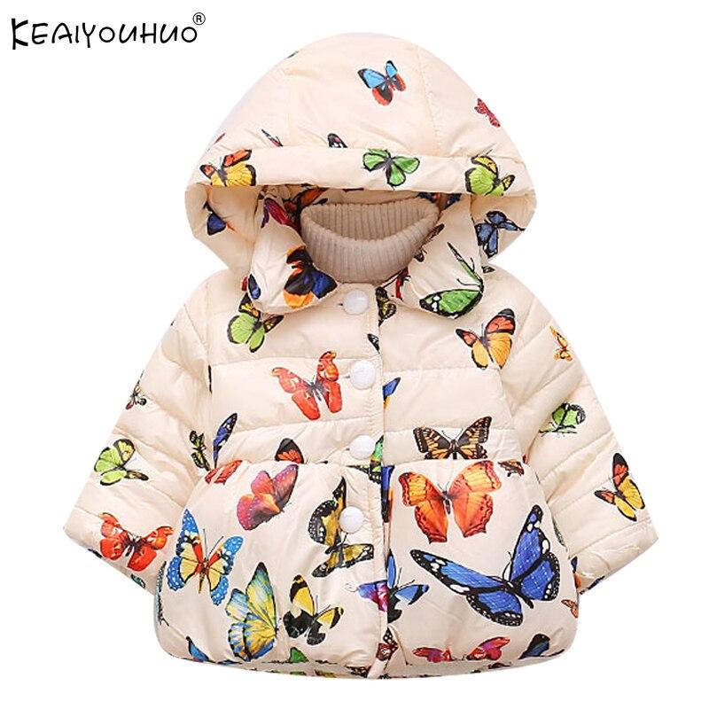 40065c43d KEAIYOUHUO chaquetas de abrigo para niñas 1 2 3 4 años de manga ...