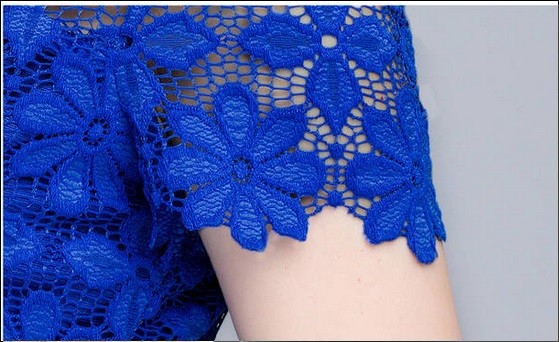 HTB1o43fHXXXXXa aFXXq6xXFXXXB - Short Sleeve Tee Shirt Top Clothing Lace Blouse Sexy Floral