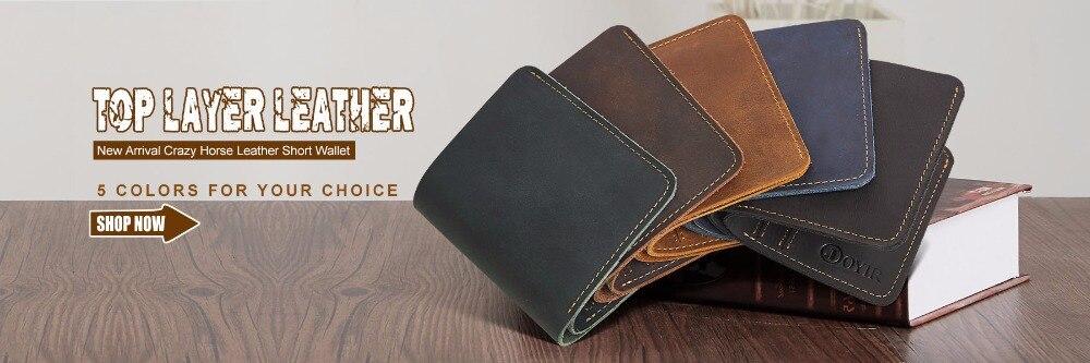 ᗚJOYIR маленький кошелек Мужской кошелёк из натуральной ...