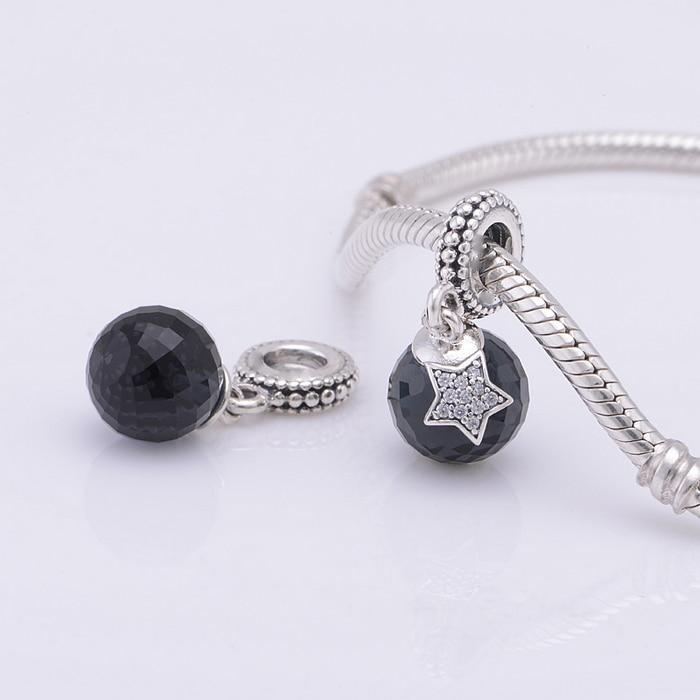 Pandora Moon Star Clear Cz