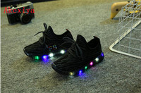 Kids LED Shoes 2018 New Toddler Children Luminous Sneakers Boys LED Flashing Girls Casual Shoes With