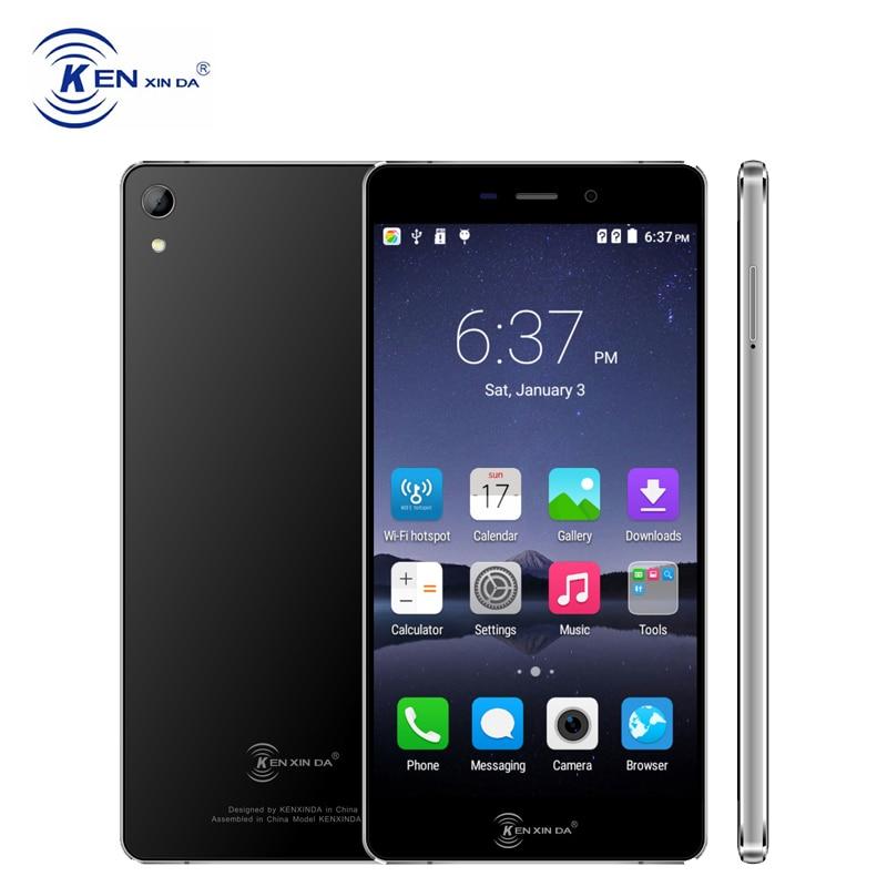 kenxinda R6 4G LTE Smartphone Android 6.0 MTK6753 Octa Core 2+16 1920*1080 IPS Corning Gorilla Unlocked Dual Sim Mobile Phone