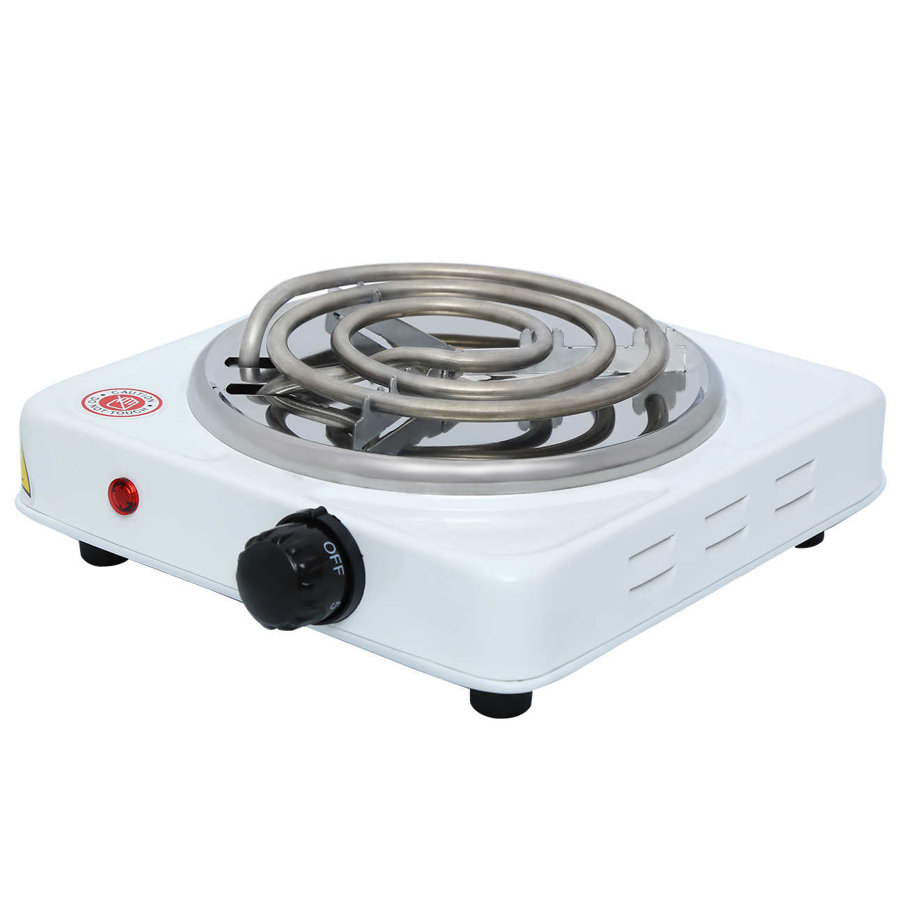 Portable Electric Iron Burner Single Stove Mini Hotplate Home Kitchen Coffee Heater Cooker Dorm Rv Travel Cook 110v Aliexpress