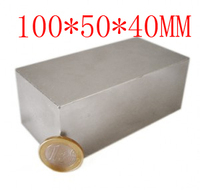 100 Mm X 50 Mm X 40 Mm Powerful Craft Neodymium Rare Earth Permanent Strong N52