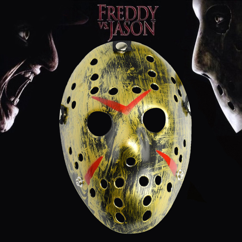 Halloween Costume Jason Friday 13th.Us 6 16 30 Off Friday The 13th Horror Hockey Jason Vs Freddy Mask Halloween Costume Prop Cosplay Mask 7 Colors On Aliexpress Com Alibaba Group