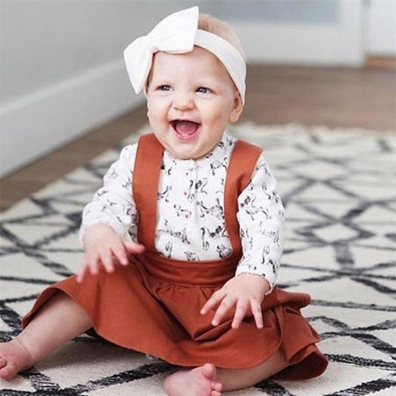 Toddler Infant Baby Girls Sleeveless Strap Dress Cute Solid Sundress Clothes roupas infantis menina girls clothes