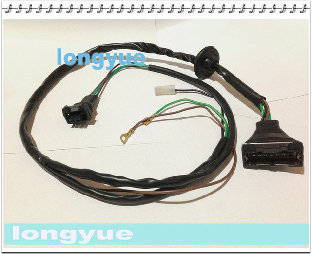 20pcs electronic ignition control device ignition module distributor harness  case for vw santana 2000 golf jetta oe 026111111
