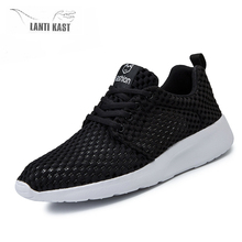 Sneakers Men Women Running Shoes Lightweight Breathable Casual Slip On Mesh Summer Trainers Male Female Footwear недорого