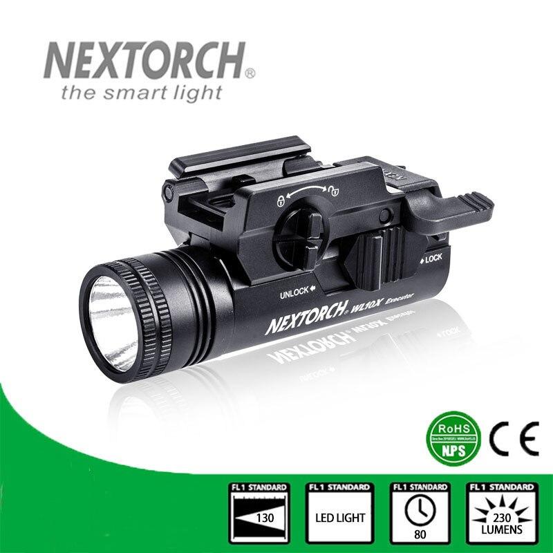 NEXTORCH Flashlight Waterproof Shockproof Bulb 230 Lumen CE TACTICAL WL10X nextorch rt3