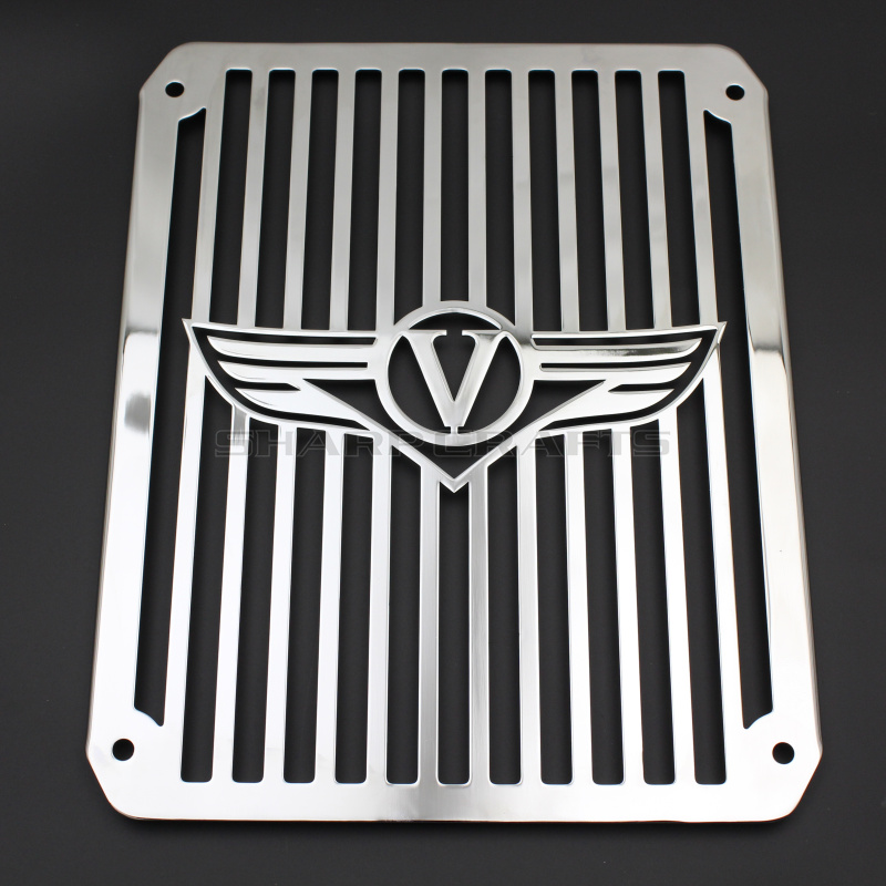Top Quality Radiator Grill Cover Guard Protector Water Tank Cooler Cover for Motorcycle Kawasaki VULCAN VN400