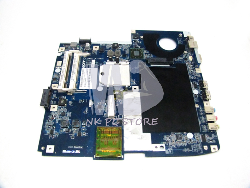 MBBTEST002 MB.BTEST.002 Main Board For Acer Aspire 5530 5230 Laptop Motherboard Socket S1 DDR2 with Free CPU JAWD0 LA-4391P
