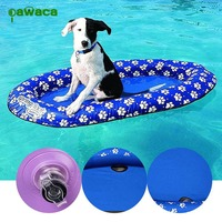 Pet Dog Water Fun Toys Pool Floats Dog Pool Float Large Inflatable Raft for Pets Inflatable Pet Summer Swimming Pool Toy Raft