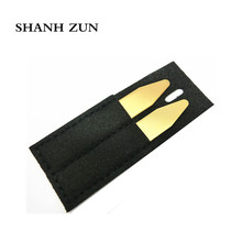 SHANH ZUN 2 Pcs Mirror Polished Stainless Steel Collar Bones 5 Colors Available Can Custom Name or Logo Stays