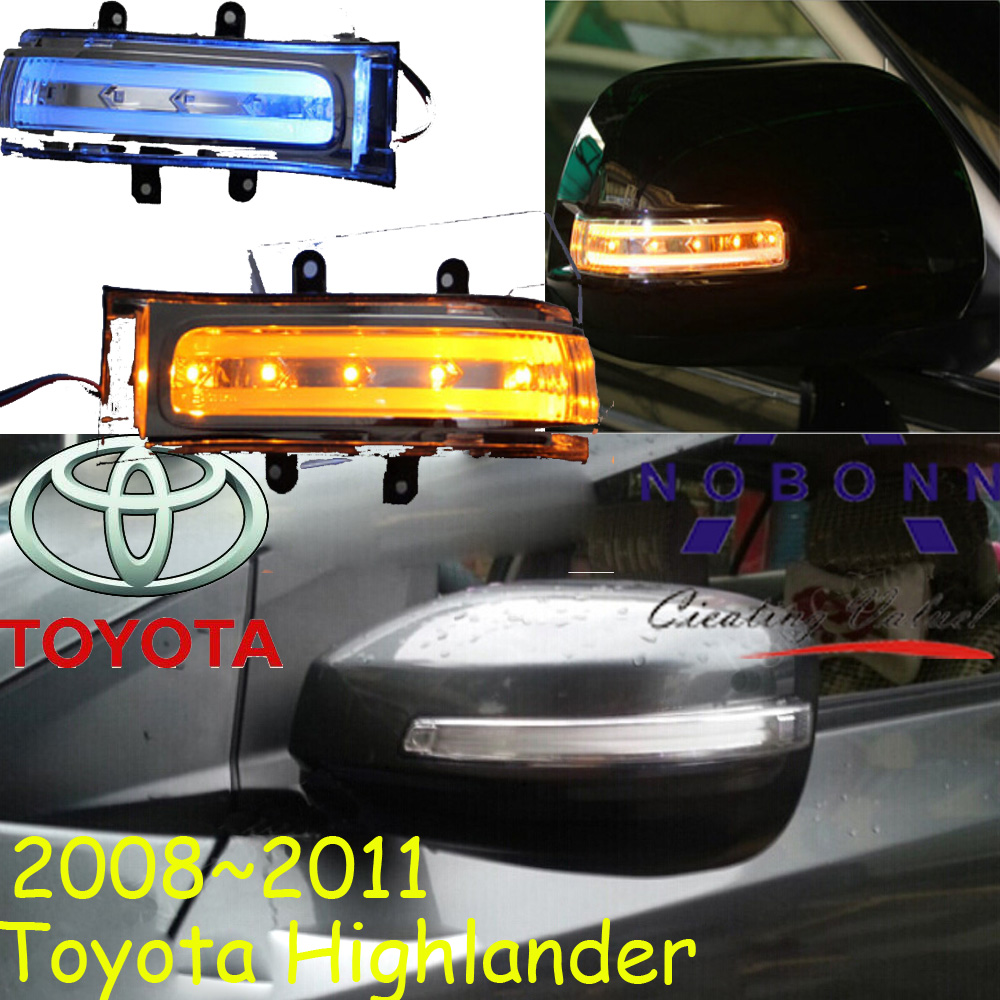 car-styling,Highlander Mirror light,2008~2011/2015~2017,Free ship!2pcs,Highlander fog light;car-covers,Highlander turn light 2017 new yohe full face motorcycle helmet yh 993 full cover motorbike helmets made of abs and pc visor lens have 5 kinds colors