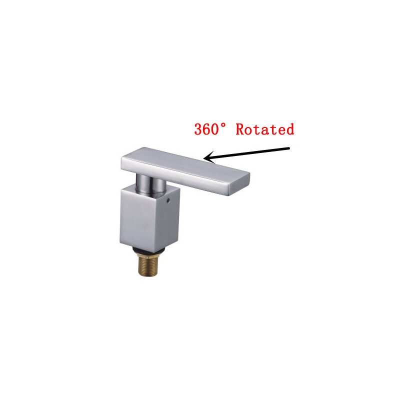 New design Copper rotated Deck-Mounted bathtub faucet outlet water bibcock, Bathroom split faucet chrome plated, Free ShippingNew design Copper rotated Deck-Mounted bathtub faucet outlet water bibcock, Bathroom split faucet chrome plated, Free Shipping