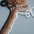 Бесплатная Доставка оптовые цвет выбрать маленькие кудрявые волосы 100 см Естественный Цвет Парики для BJD Куклы парики