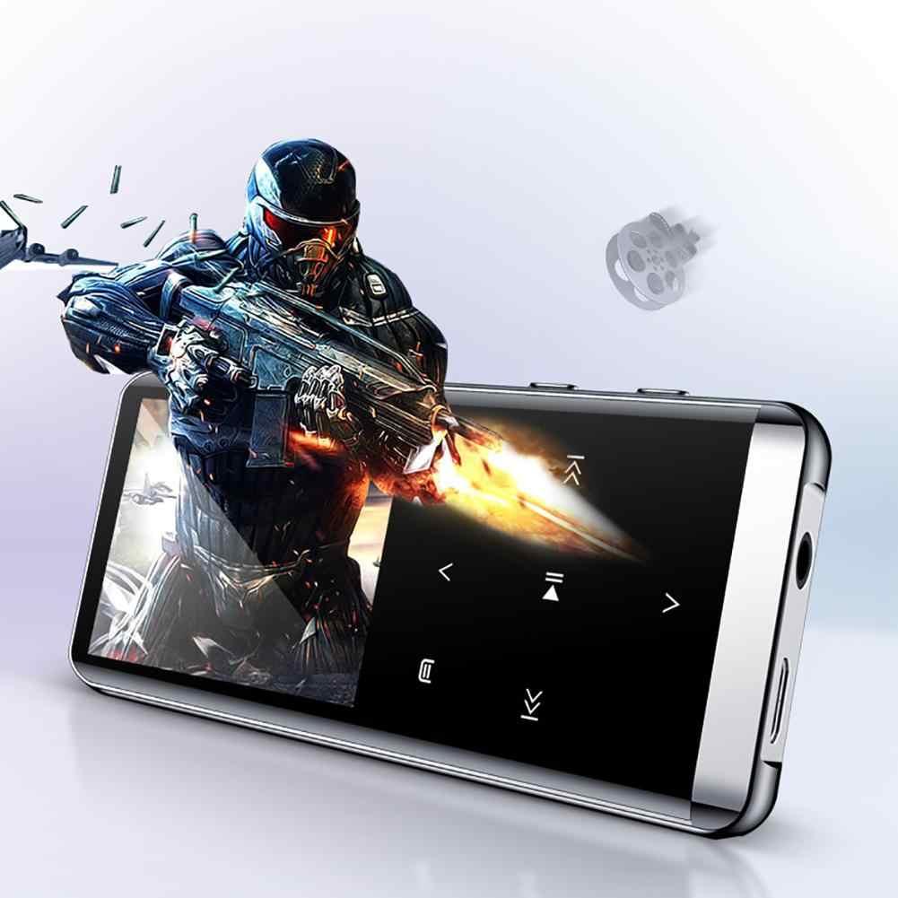 OTG MP3 プレーヤーボイスレコーダー Bluetooth 4.2 タッチスクリーン 1.8 インチポータブルハイファイ 5D 音楽プレーヤー 8 ギガバイト/16 グラム超薄型 MP3 プレーヤー FM