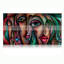 Large Size Canvas Paintings Wall Picture Figure Quardro Decorative Horses Pictures Art Home Decor For Living Room