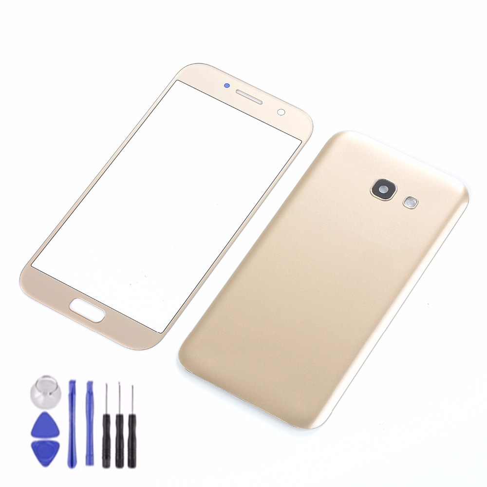 For Samsung Galaxy A5 2017 A520 A520F LCD Touch Screen Panel Sensor Digitizer Glass+Housing Back Battery Cover+Adhesive+Tools