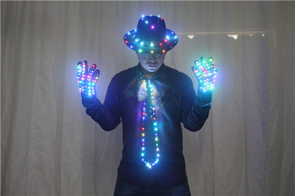 Men's LED Costume Clothes Michael jacket Cosplay Costume