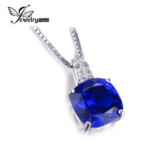 5ct Blue Sapphire Pendant Pure Strong 925 Sterling Silver Jewellery Gem stone Jewellery Ladies Jewellery Engagement Wedding ceremony Superb Jewellery