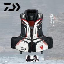 New Daiwa Sport Fishing Life Vest Men Breathable Swimming Life Jacket Safety Waistcoat Survival Utility Vest Colete Salva-Vidas