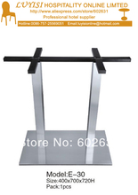 Stainless steel  table base,kd packing 1pc/carton,fast delivery.