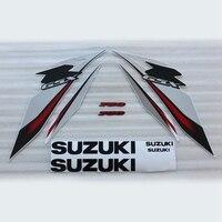 Motorfiets 3 M Hele Auto Decal Stickers Voor Suzuki GSXR GSXR600 GSX750R K8 2008-2009 Wit/Grijs Kuip