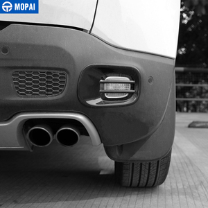 Image 4 - MOPAI metalowy samochód tylne światło przeciwmgielne lampy dekoracyjne pokrycie tapicerka dla Jeep Renegade 2015 Up akcesoria zewnętrzne Car Styling