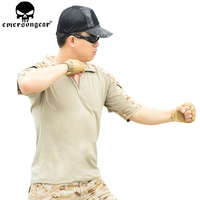 EMERSONGEAR Combat Shirt Pants with Knee Pads Tactical Shirt Pants Airsoft Paintball Outdoor Hunting Clothes EM6917