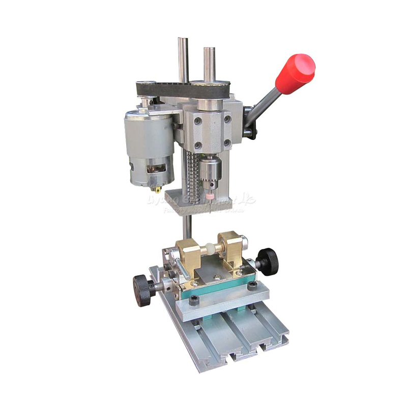 High precision micro bench drill miniature electric drilling machine Q10033 no tax to russia miniature precision bench drill tapping tooth machine er11 cnc machinery
