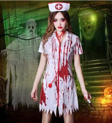 zombie dress for women zombie clothing zombie costume scary nurse dress halloween costumes for women