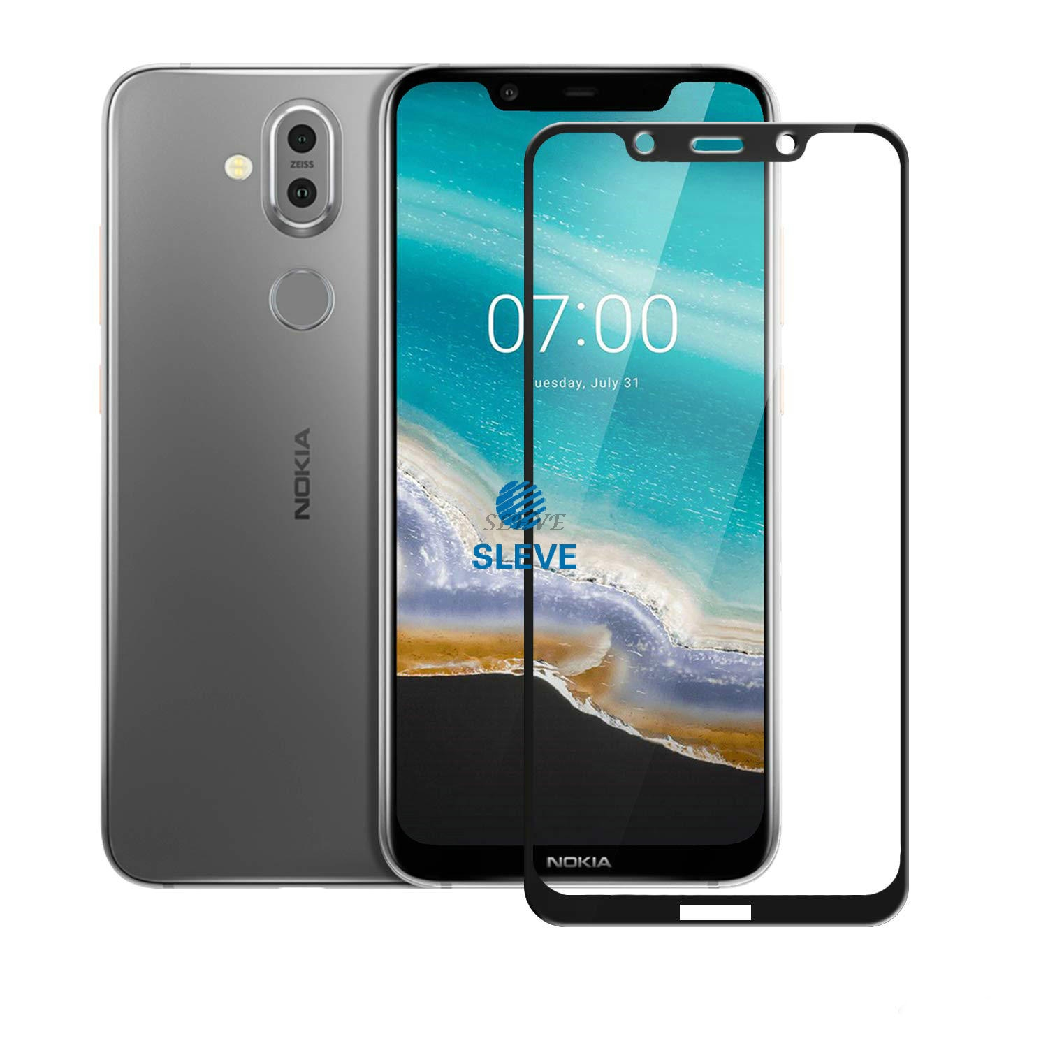 Nokia 8.1 Full Tempered Glass Nokia 8.1 2018 Screen Protector Tempered Glass For Nokia 8.1 TA-1119 TA-1128 Phoenix Nokia8.1