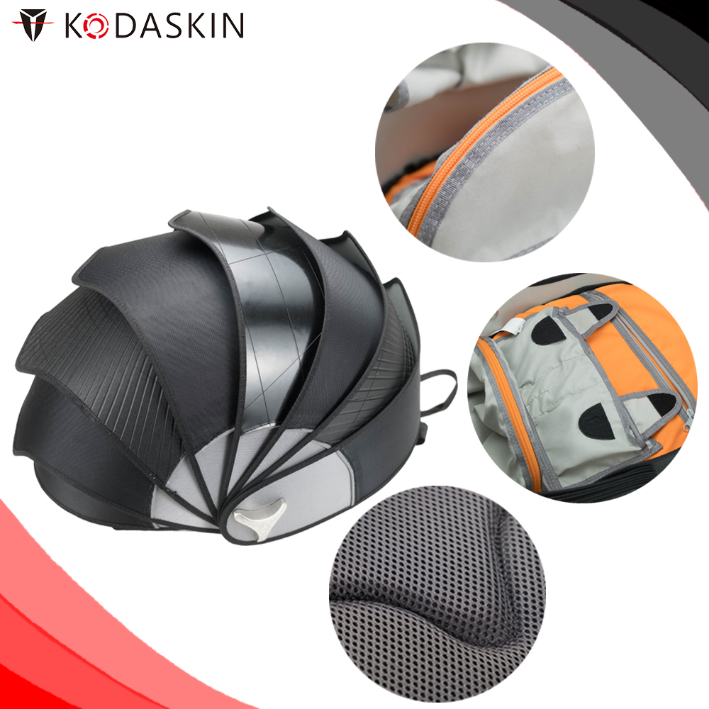 KODASKIN Motorcycle Men's Waterproof Bag Tail Bag Multifunction Motorcycle Rider Backpack