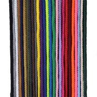 5 мм * 100 ярдов красочные белый хлопок шнур натуральный бежевый витой шнур плетение из веревок макраме Строка DIY Главная Декоративные поставк