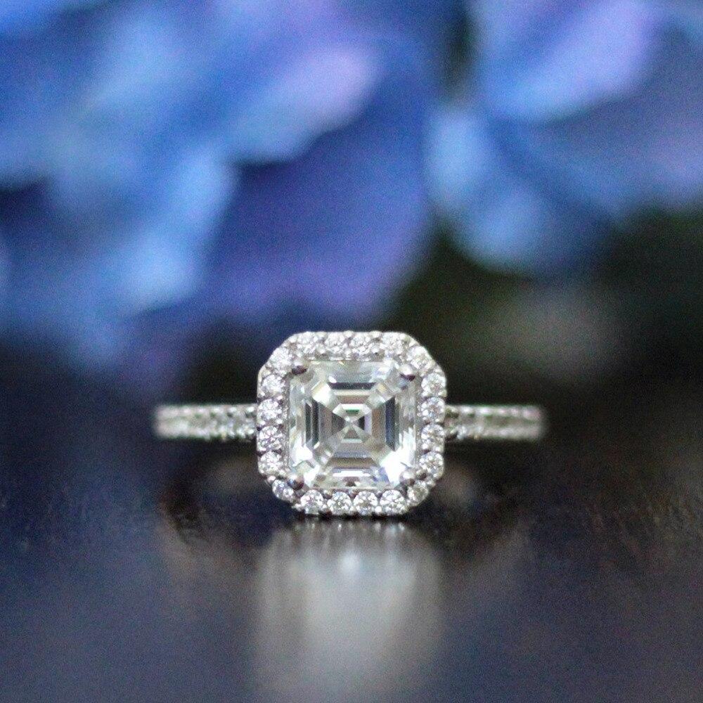 bague diamant asscher