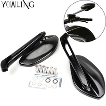 FOR DUCATI Motorcycle Rearview Side Mirrors Moto Motorbike Rear view mirrors Multistrada 1200 S Touring 1198S 1098R 1098S