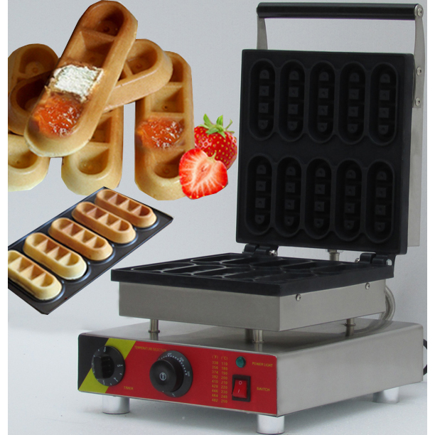 2019 New design Mini commercial waffle stick maker lolly egg waffle machine