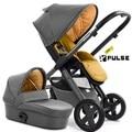Fábrica de Lujo de Lujo del cochecito de bebé 2 en 1 con capazo de bebé recién nacido 180 lay flat, 4 ruedas cochecito de bebé silla de paseo