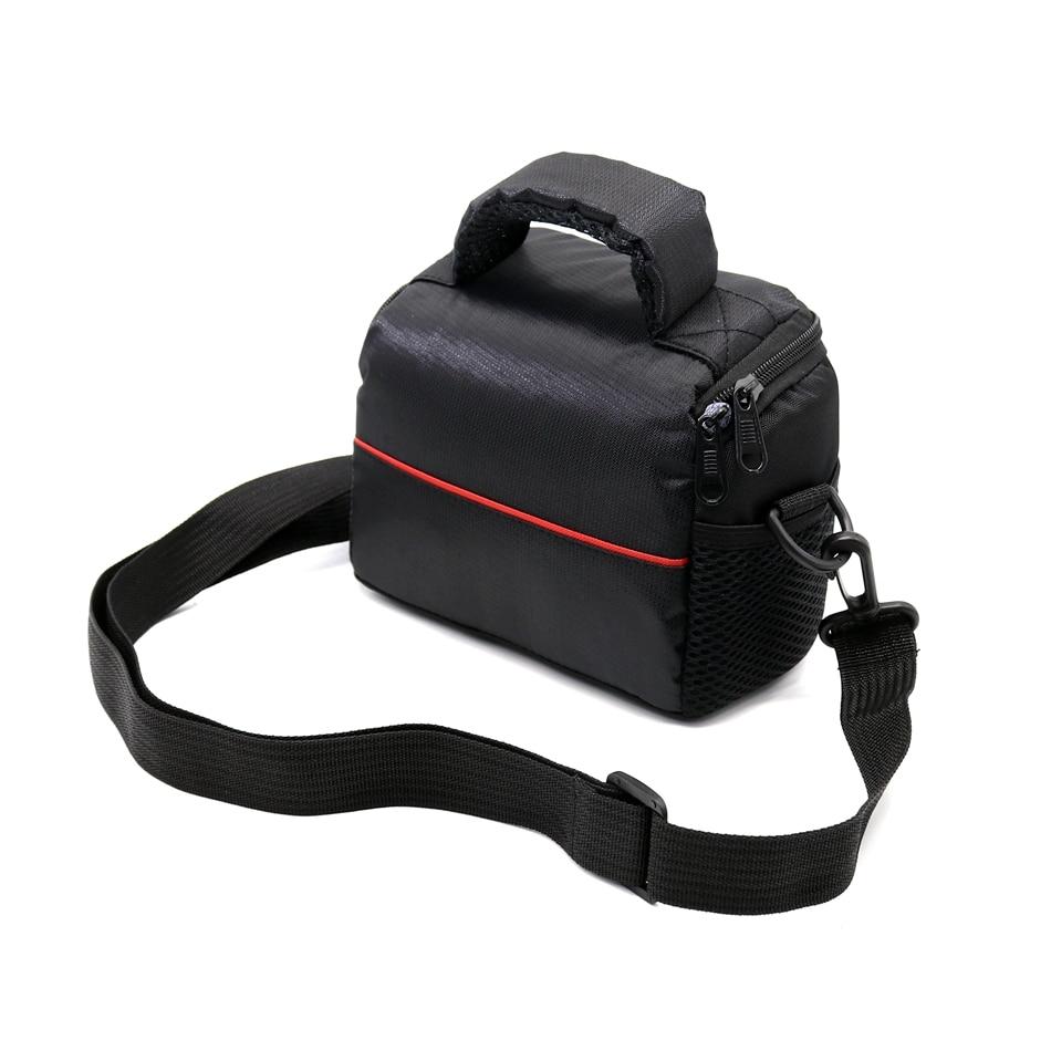 Digital Camera Cover Bag for Panasonic DMC-GF2 GF3 GF5 GF6 GF7 GX1 GX7 GX80 GX85 Lumix GF7 Portable Pprotector Case With Strap